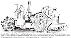 1880 Human-powered tractor with dreadnaught wheels - photo-boydell-tractor-dreadnaught-x640.jpg