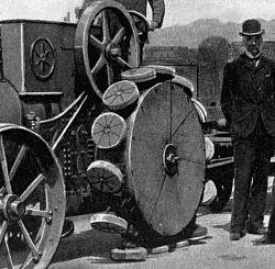 1880 Human-powered tractor with dreadnaught wheels - photo-romance_of_modern_mechanism_12.png234.jpg