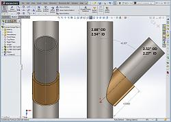 3D-Printed Pipe 45 Degree Scribe Guide-solidwork-pipe-45-cut-guide-1.jpg
