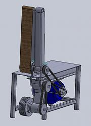 6 x 72 belt & centerless grinder project-main-drum-assembly2.jpg