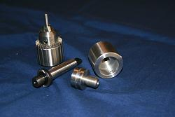 Adjust Tru Chuck for the lathe tail stock or a drill press chuck-img_1149.jpg