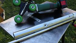 Angle grinder pipe sander attachment. - quick mount --2.jpg