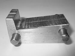 Band Saw Out Feed Table-02-specially-made-angle-blocks.jpeg