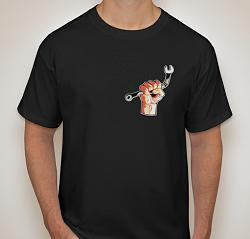 Barbed Wire Fence Unroller-black-shirt-front-actual-design.jpg