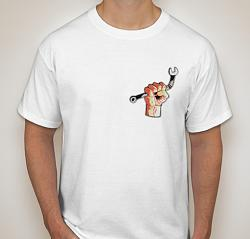 Barbed Wire Fence Unroller-white-shirt-front-actual-design.jpg