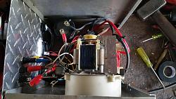 Battery charger out of a Microwave Oven Transformer-4.-fan-top-view.jpg