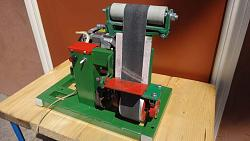 Belt Grinder from the motor of the washing machine-dsc04903.jpg