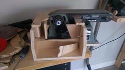 """Belt sander dust collection and 10"""" disc sander-imag1535.jpg"""
