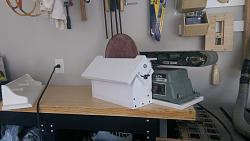 "Belt sander dust collection and 10"" disc sander-imag1560.jpg"
