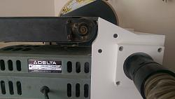 """Belt sander dust collection and 10"""" disc sander-imag1562.jpg"""