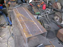 Big Bench Vice out of scrap-1.-channel-marked-out-cutting.jpg