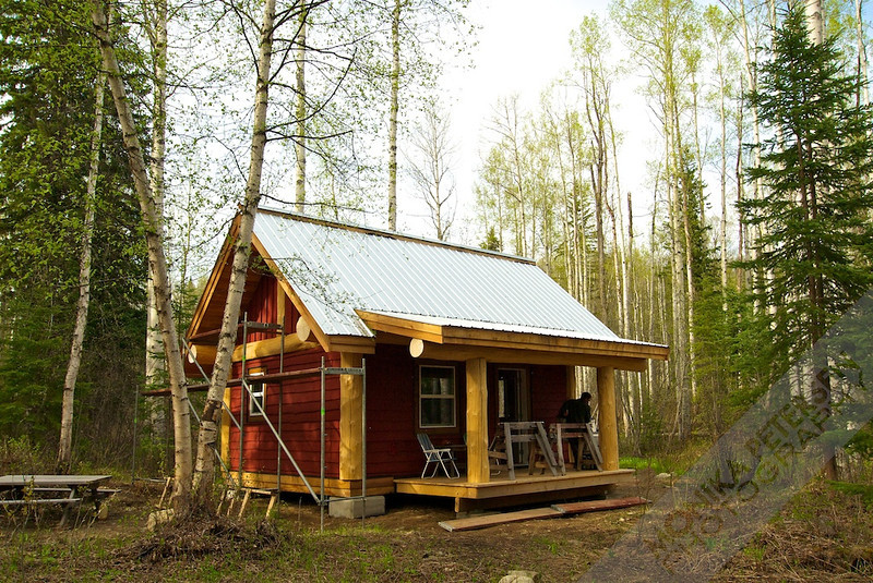 Superior Post And Beam Cottage Plans #6: ... CabinBuilds.net: 16x20 Post And Beam Cabin By  Moni-16x20postandbeamcabin5.jpg ...