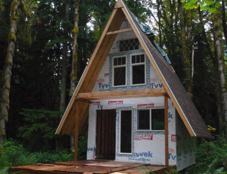 Small A Frame Cabins Part - 23: CabinBuilds.net: A-Frame Cabin Build By Jeremy165-screen-shot- ...