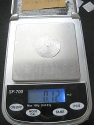 Carburetor Diaphragm Movement Detector and its system-aluminum_plate_weigh.jpg