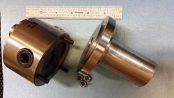 Chuck Mandrel for 80 mm Chuck-chuck-mandrel-attached-m6x1-studs-nuts.jpg