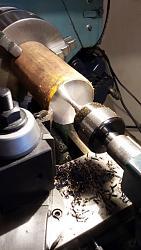 Chuck Mandrel for 80 mm Chuck-preparing-3.25-inch-dia.-1025-crs-maching-chuck-mandrel-.jpg