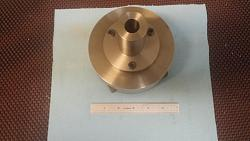 "Chuck Mandrel for a small 5"" 4-jaw Chuck-mandrel-attached-5-inch-4-jaw-chuck.jpg"