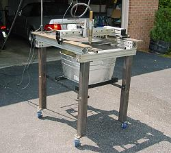 CNC Plasma Cutting in a Small Space-2x2-casters.jpg