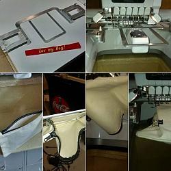 Computer Embroidery is CNC too! Custom workingholding frames-flatframe.jpg