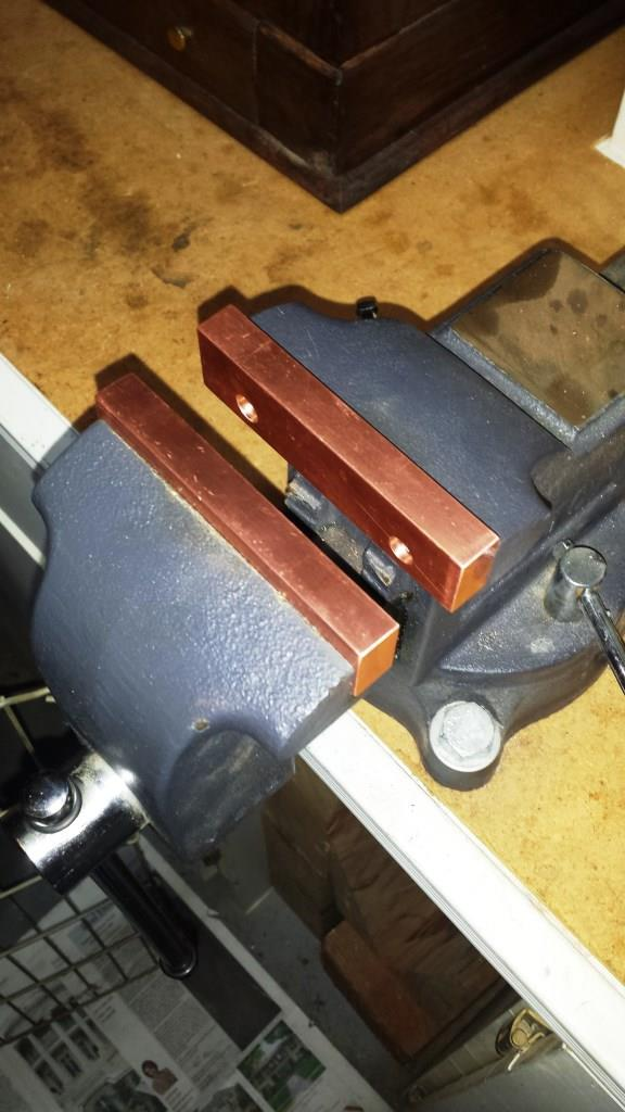 Ordinary Soft Jaws For Bench Vise Part - 13: Copper Soft Jaws For Bench Vise-copper-one-half-x-1 ...