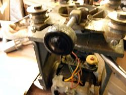 Craftsman Radial arm Saw  Replaced Broken Knob sliding lock.-005.jpg