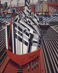 Dazzle ship camouflage - photos-dazzle-ships_in_drydock_at_liverpool.jpg