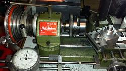 Detail view of dial indicator adjustable holders for the Unimat-finishing-head-support-od-unimat.jpg