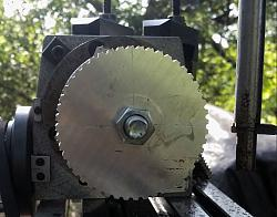 """DIYed XL 037 Belt pulleys for the 7 x 14"""" mini lathe.-mill-pulley.jpg"""