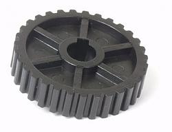 """DIYed XL 037 Belt pulleys for the 7 x 14"""" mini lathe.-original-drive-pulley.jpg"""