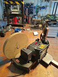 Brilliant Easy Bench Grinder To Belt Sander No Welds Or Lathe Ocoug Best Dining Table And Chair Ideas Images Ocougorg