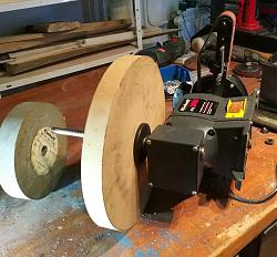 Terrific Easy Bench Grinder To Belt Sander No Welds Or Lathe Ocoug Best Dining Table And Chair Ideas Images Ocougorg