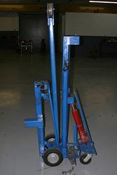 Easy Storage Cart for Bluebird Engine Hoist - Crane-bluebird_factory_cart.jpg