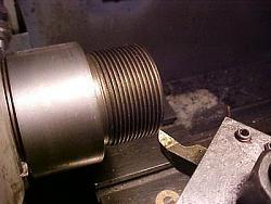 ER-40 collet chuck for metal lathe.-5-threading-body-nose-cap.jpg