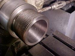 ER-40 collet chuck for metal lathe.-6-threaded-body-taper.jpg