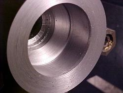 ER-40 collet chuck for metal lathe.-8-nose-taper-cut-hole-bored.jpg