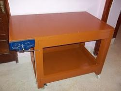 EVERY WOODWORKERS PRIDE - HIS OWN HOME MADE WORK BENCH WITH VISE-1.jpg