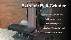 """Extreme Belt Grinder 5.3x78.5""""-belt.jpg"""