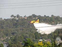 Fire bomber plane puts out truck fire - GIF, photos, and video-fire-9-3-09-5.jpg