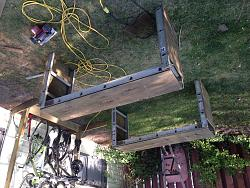Folding work table and truck bed extender...-image.jpg