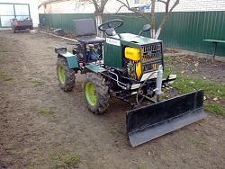 Garden mini tractor 4x4 HomemadeToolsnet