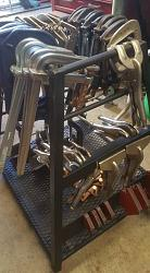 "got this welding table for free.....first project buit on it: ""clamp storage rack""-13062100_10206144307871125_3745020683946590977_n.jpg"