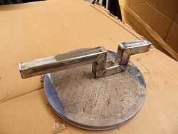 GRIZZLY BAND SAW   MODIFICATION Folding Table Extension  pt 1.-003.jpg