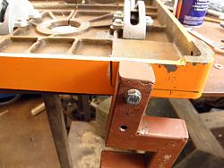 GRIZZLY BAND SAW   MODIFICATION Folding Table Extension  pt2.-014.jpg