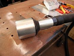 "GRIZZLY BAND SAW    MODIFICATION  Vacum Dust Reducer 4"" to 2 1/4""-027.jpg"