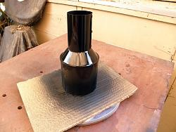 """GRIZZLY BAND SAW    MODIFICATION  Vacum Dust Reducer 4"""" to 2 1/4""""-029.jpg"""