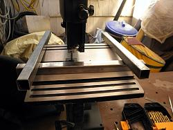 Harbor Freight band saw 9 inch Mod Rip Fence and support frame.-004.jpg