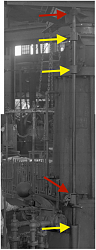 High-quality black-and-white photographs of large old machines and tools-mechanism.png