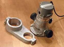 High Speed Spindle (Router) Mount for a CNC Mill-mount_03_finish_w_router.jpg