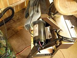 Home Made Wood Lathe Variable speed dc motor and controller.-014.jpg