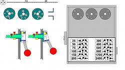 Homemade Lathe Headstock EXTERNAL Gearbox-selector.jpg